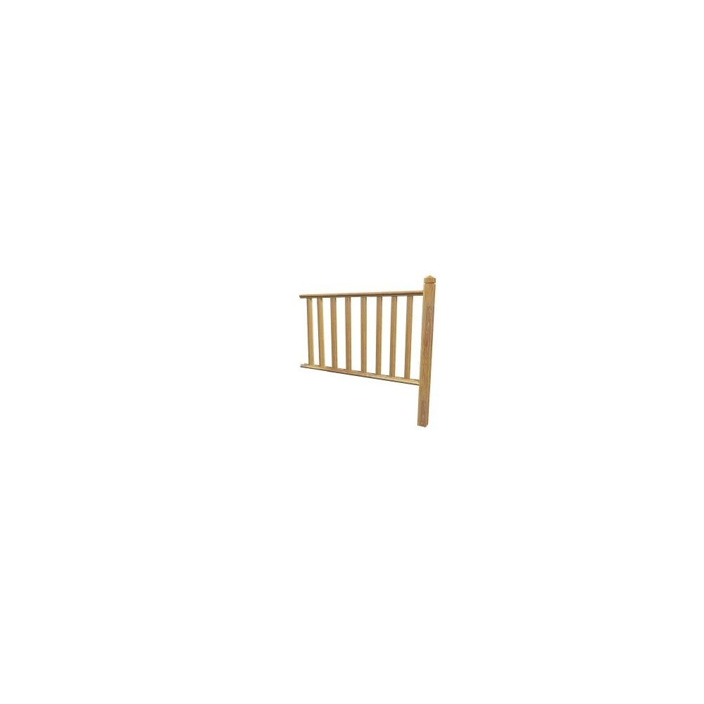 kit garde corps louisiane motif b8 kit garde corps deck linea. Black Bedroom Furniture Sets. Home Design Ideas