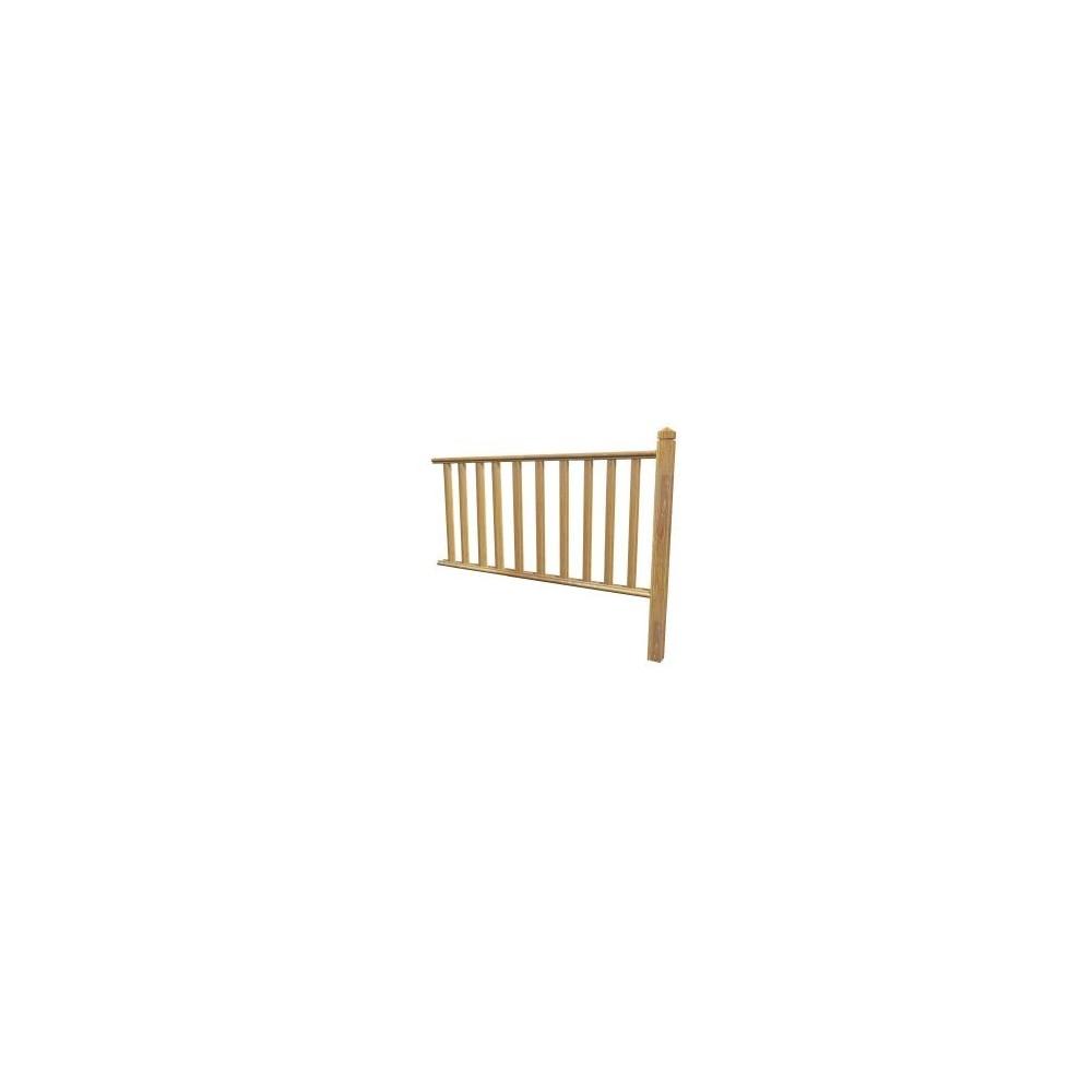 kit garde corps louisiane motif b10 kit garde corps deck linea. Black Bedroom Furniture Sets. Home Design Ideas