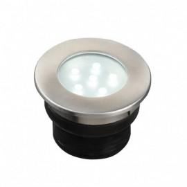 spot LED BREVUS blanc pour terrasse bois - Garden Light