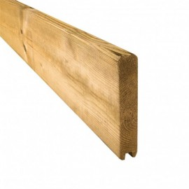 Planche de finition 28x145mm - Palissade PARANA