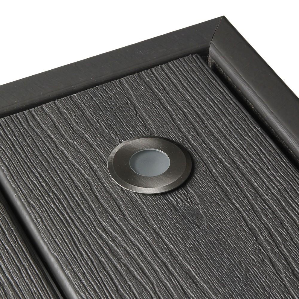 spot LED NOD inox encastrable pour terrasse en bois  HELIA  Deck linea