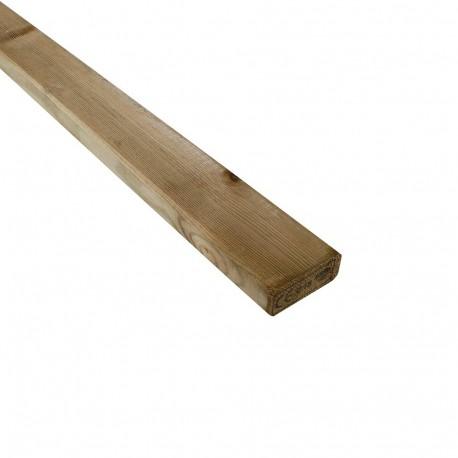 Lambourde 28x70mm L3m pin traité CL4