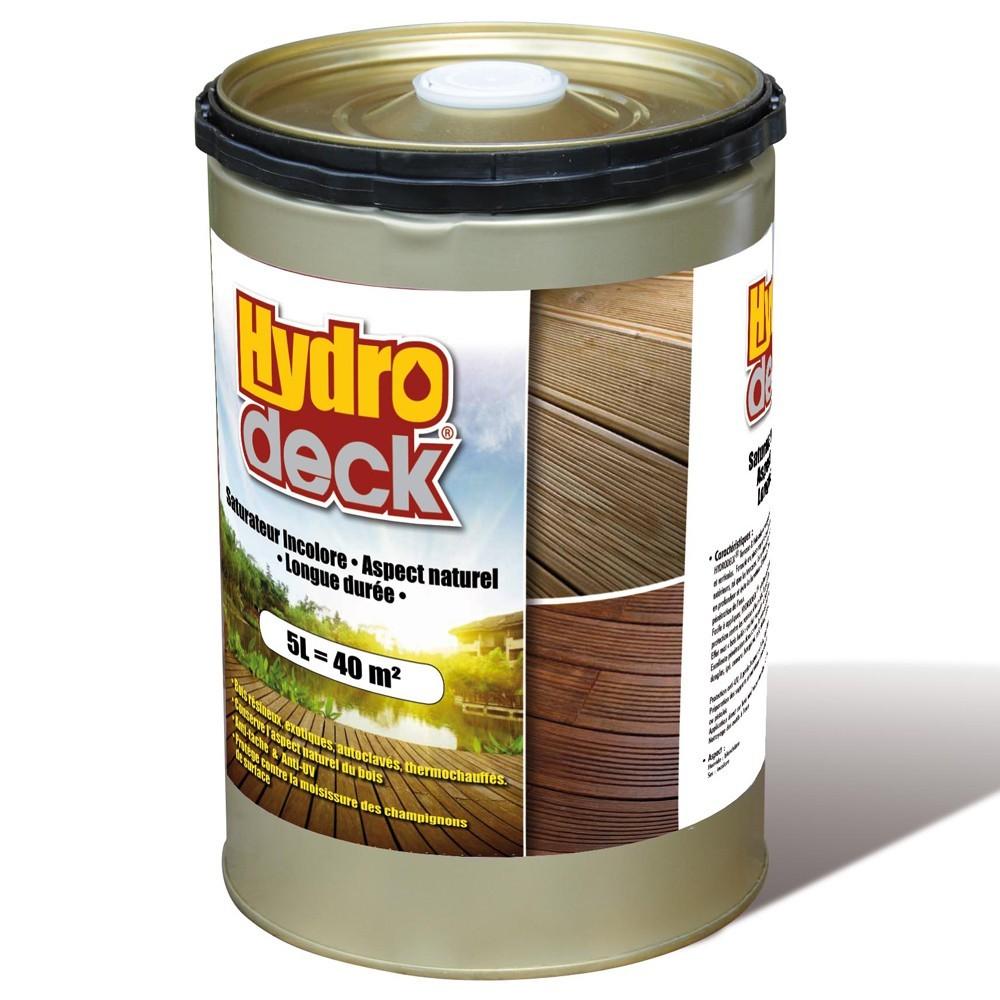 saturateur incolore pour palissade et terrasse bois hydro deck entretien et outillage deck linea. Black Bedroom Furniture Sets. Home Design Ideas