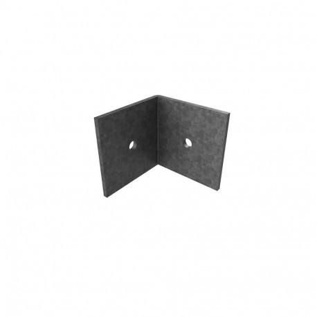 Equerre pour lambourde aluminium 40x60mm Structural