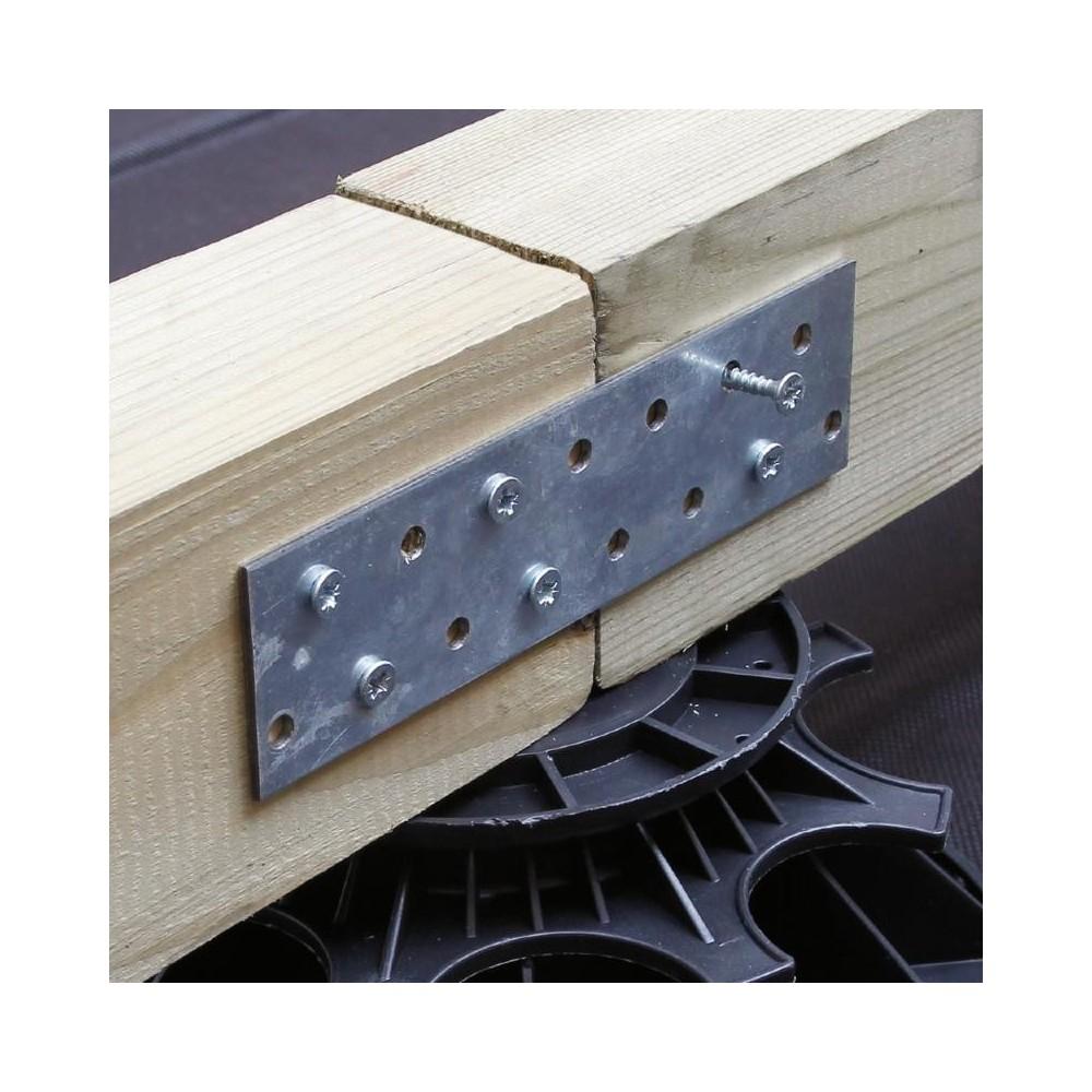 connecteur de lambourdes m tallique deck linea. Black Bedroom Furniture Sets. Home Design Ideas