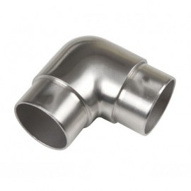 Coude 90° pour main courante Inox