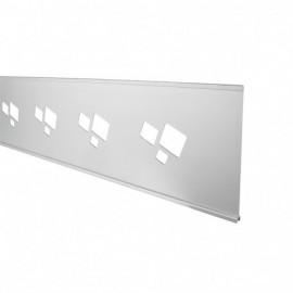 Décor Aluminium 27x180cm pour palissade PARANA / BOREAL