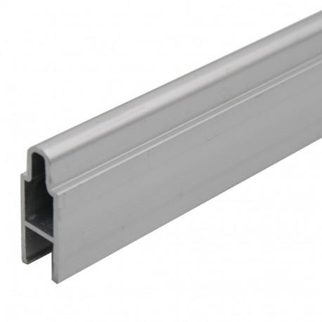 Listel aluminium 27mm pour palissade PARANA