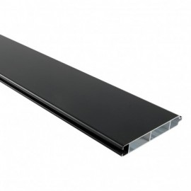 poteau aluminium poteau cloture accessoire palissade. Black Bedroom Furniture Sets. Home Design Ideas