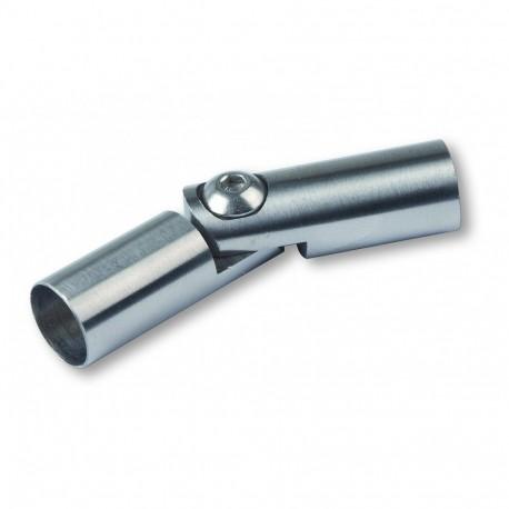 Coude articulé pour tube Inox (5 pièces)