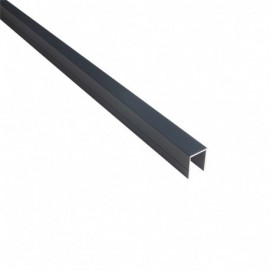 Profil en U 20 mm pour palissade OPAL