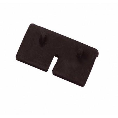 Cale caoutchouc carrée pour verre garde corps (8 pièces)