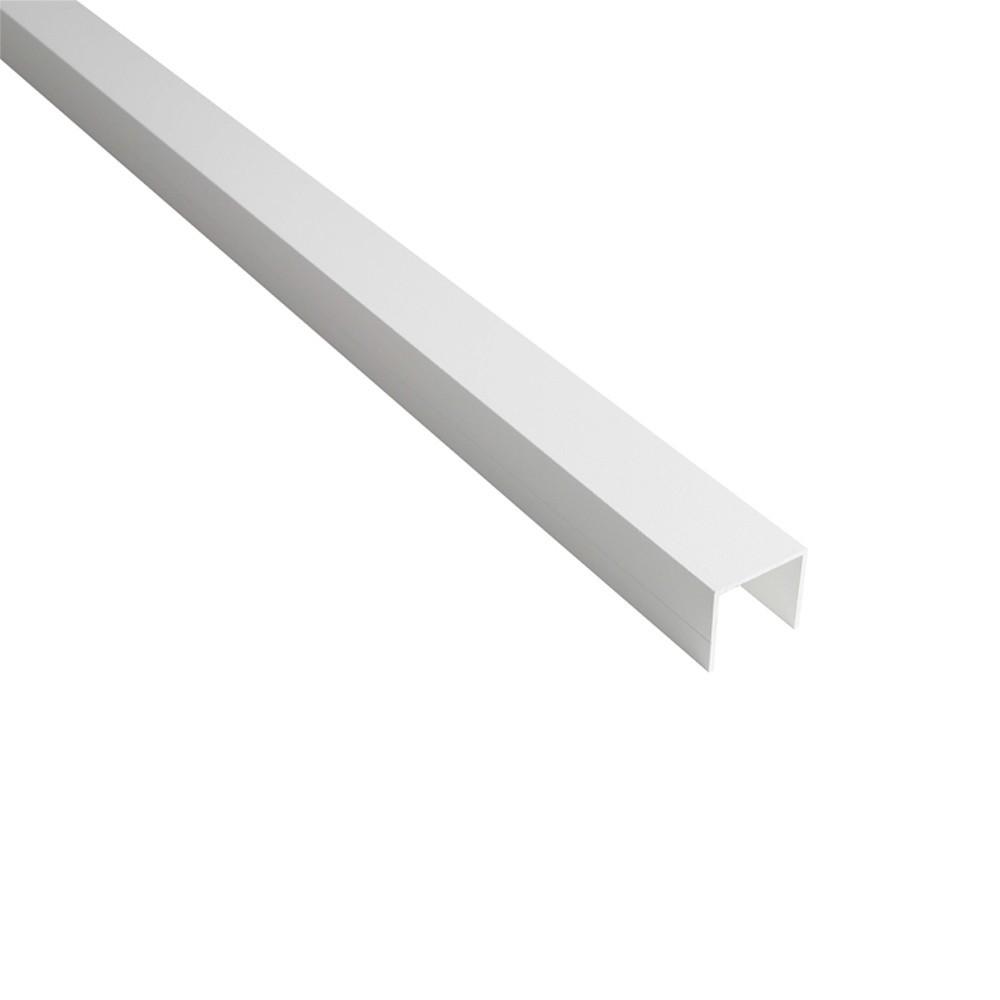 profil en u 28mm palissade bois composite aluminium. Black Bedroom Furniture Sets. Home Design Ideas