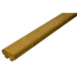 Rampe pour garde corps bois LOUISIANE