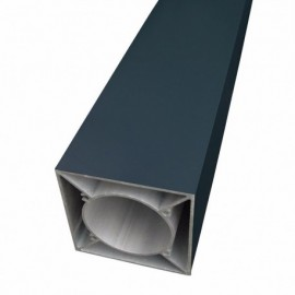 Poteau aluminium 90x90mm - IDEAL