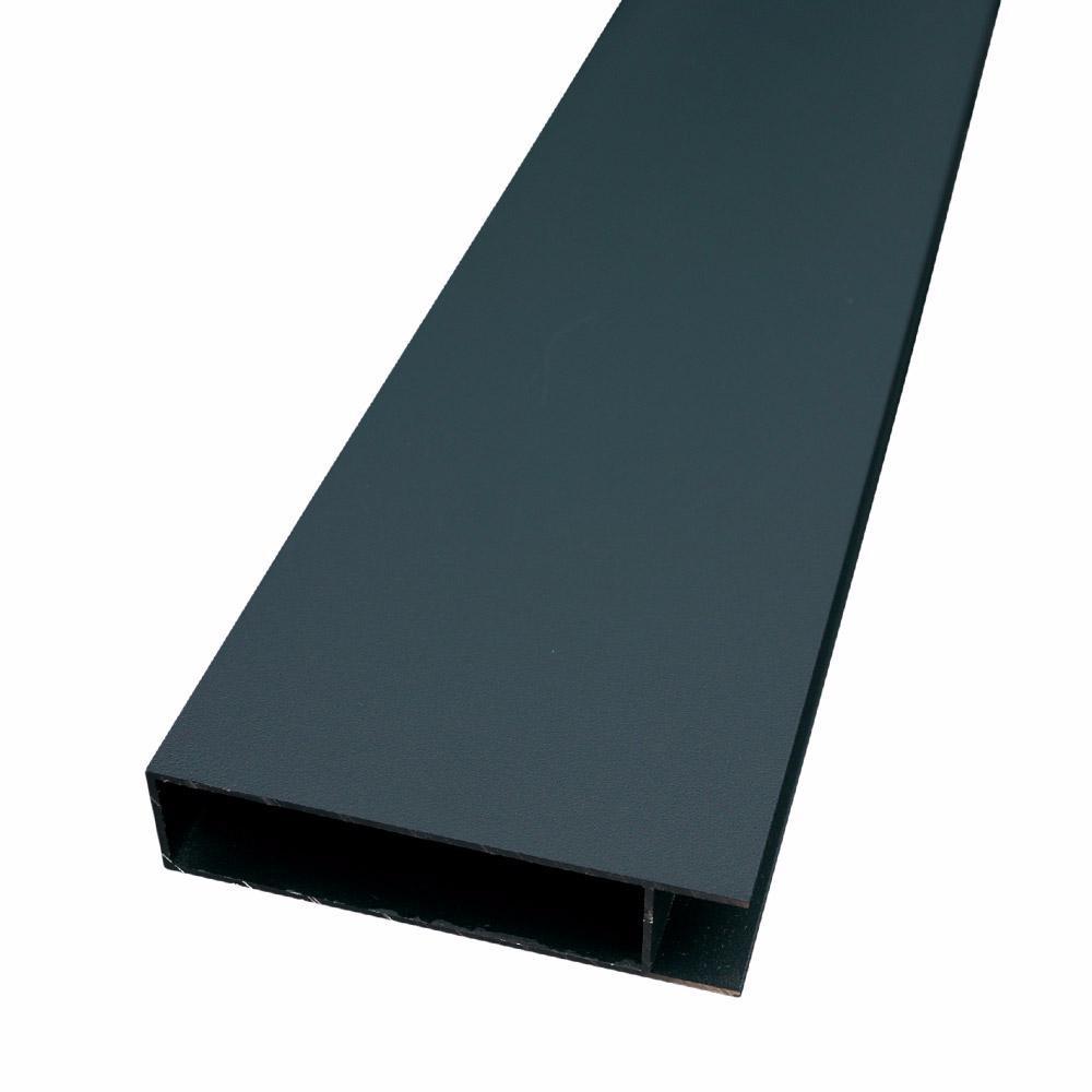 ideal lame finition palissade bois composite aluminium ideal deck linea. Black Bedroom Furniture Sets. Home Design Ideas