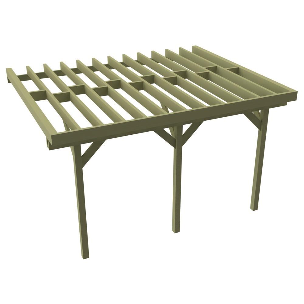 de Terrasse bois > Structure sur Pilotis > Solive 58x195mm x 4,2m