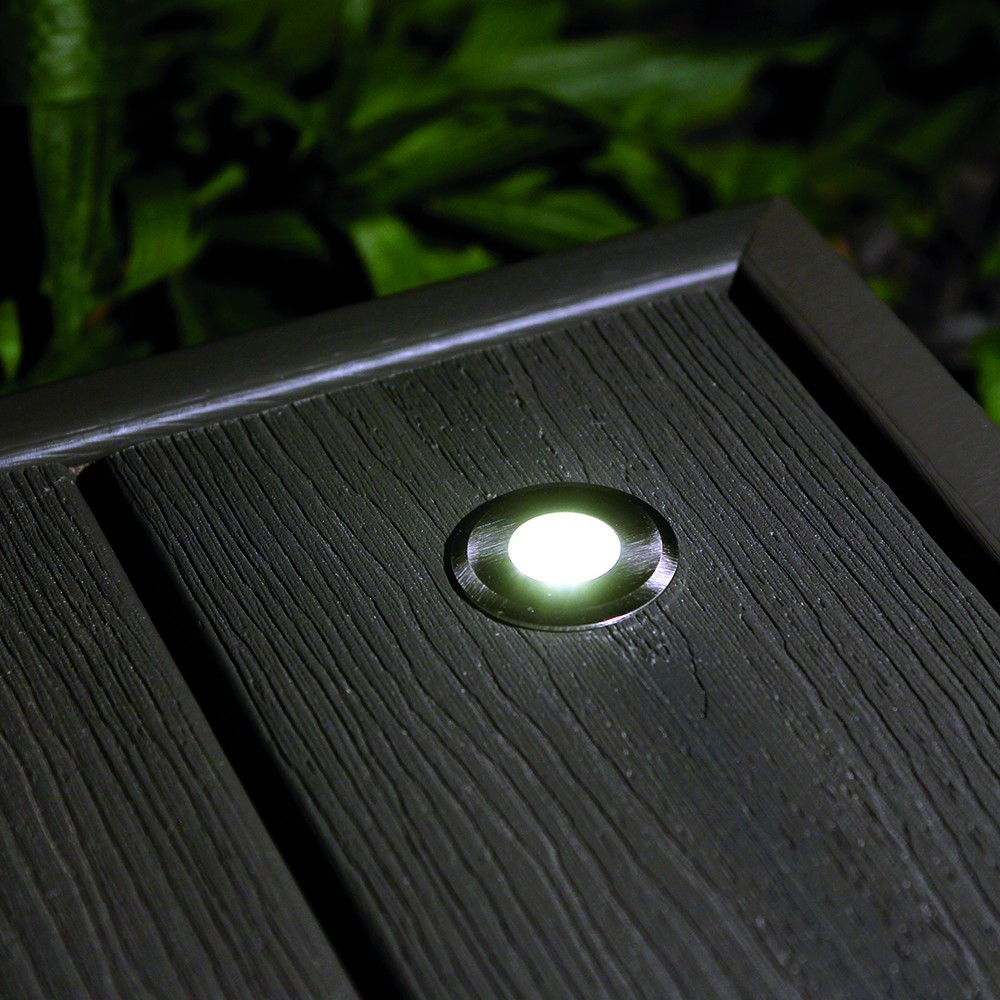 Spot terrasse bois encastrable for Spot led exterieur terrasse