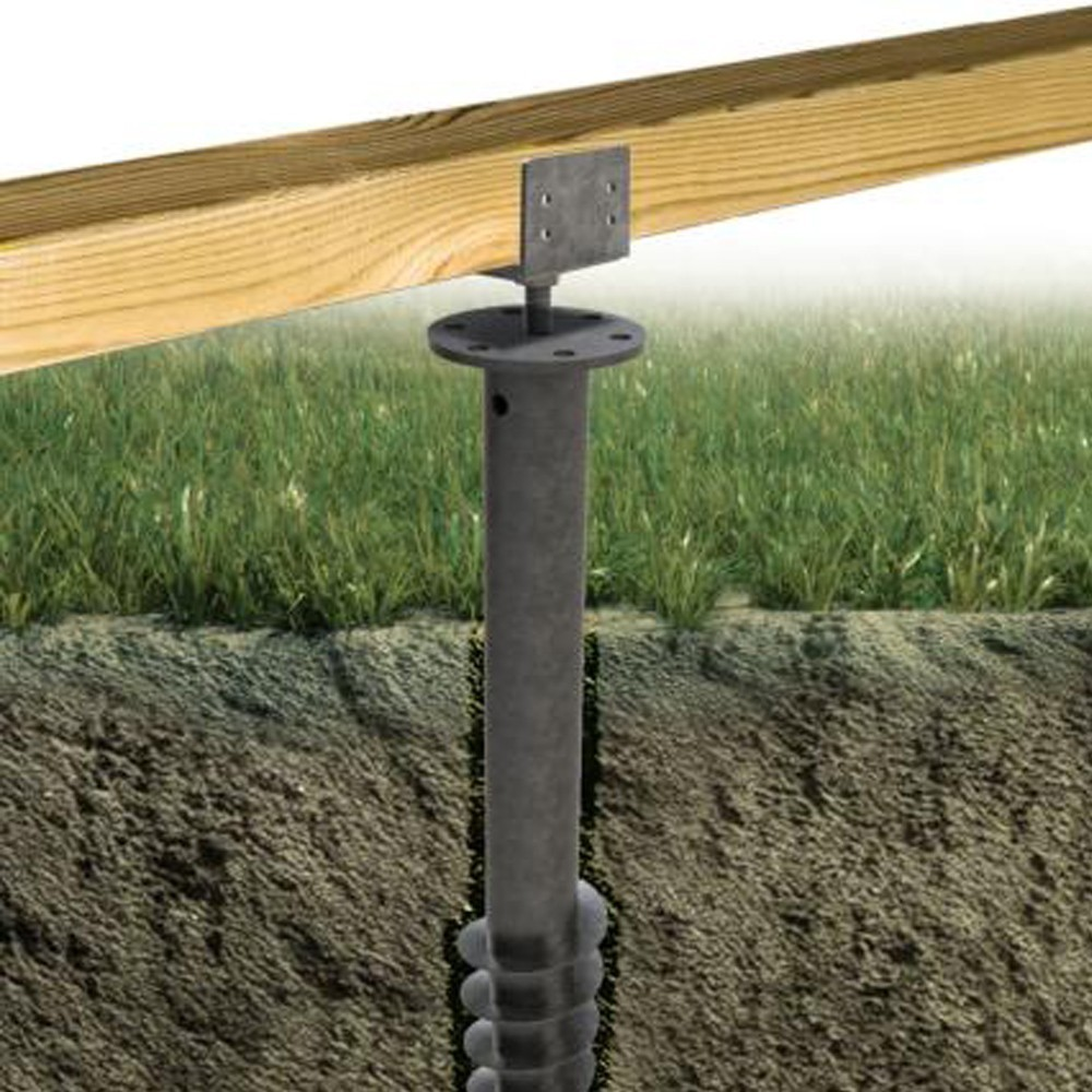 Vis De Fondation Deck Linea Installation Terrasse Sans Dalle Beton