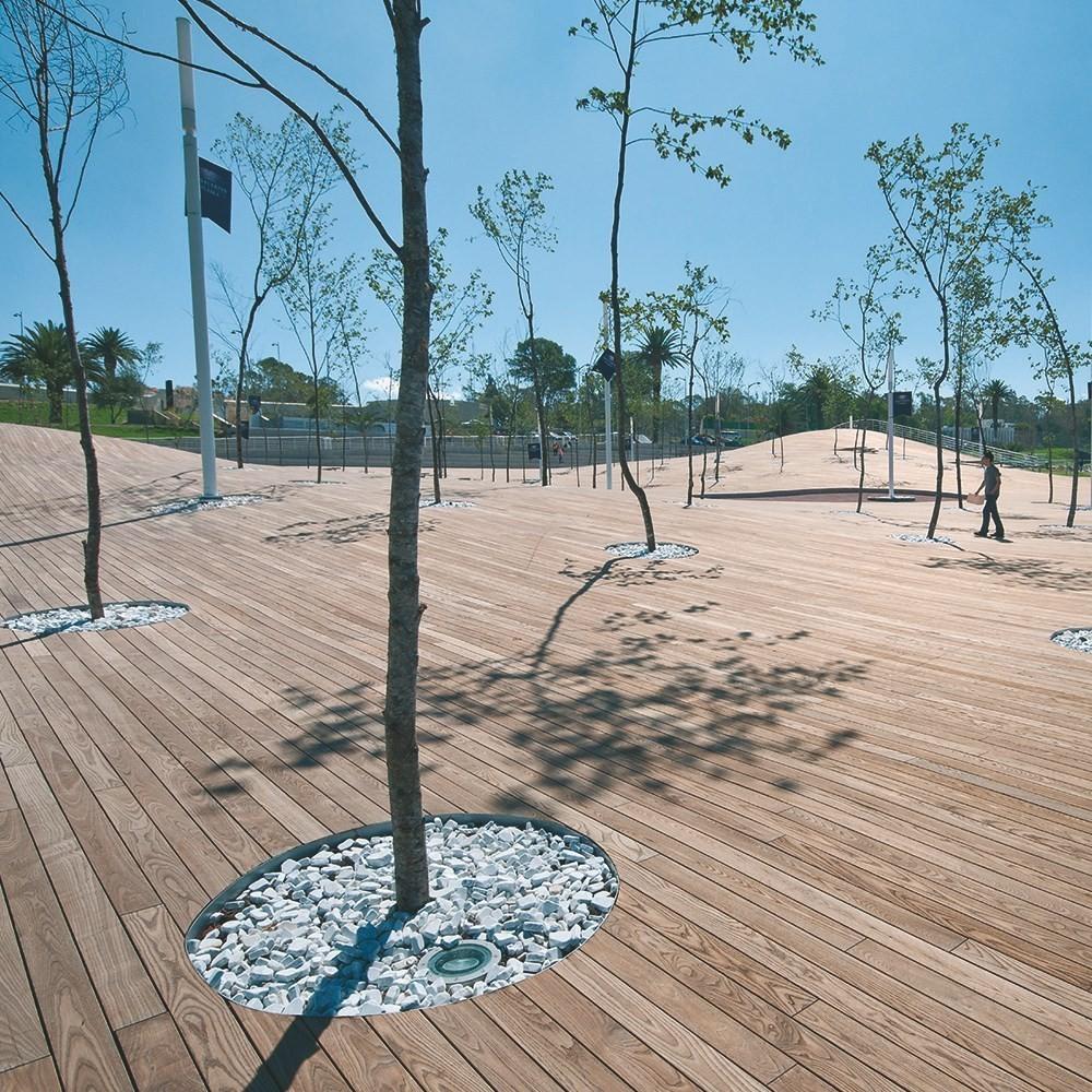 lame karakum 150 de large terrasse en bois thermo trait deck linea. Black Bedroom Furniture Sets. Home Design Ideas