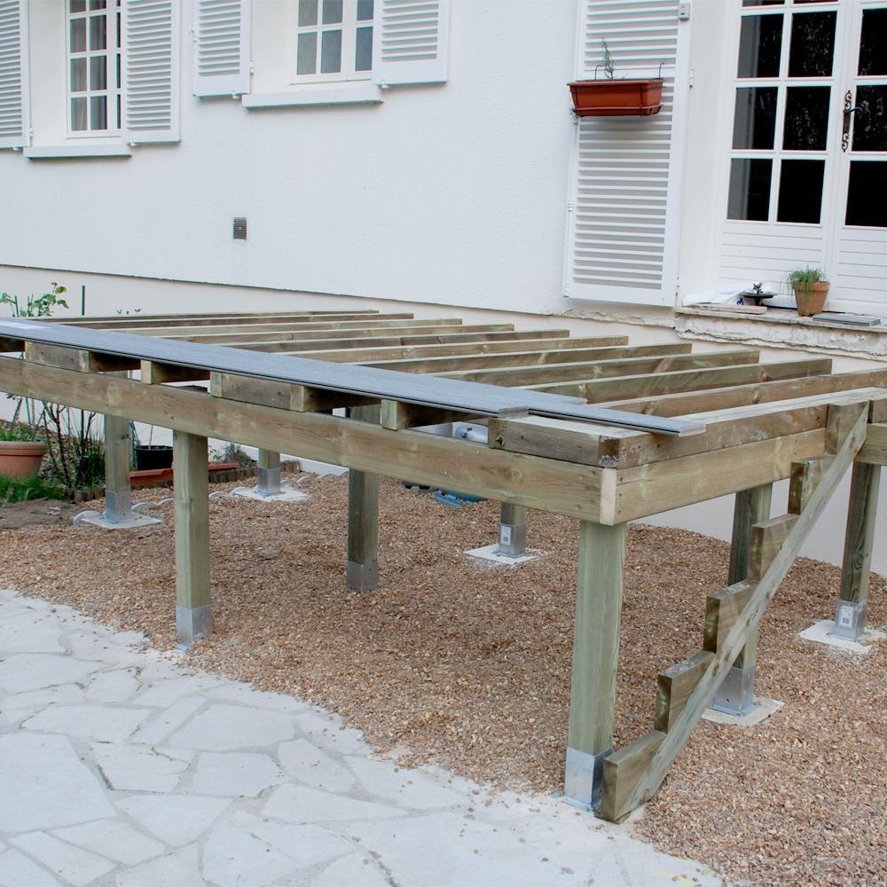 Fabriquer escalier exterieur bois fashion designs - Limon escalier bois exterieur ...