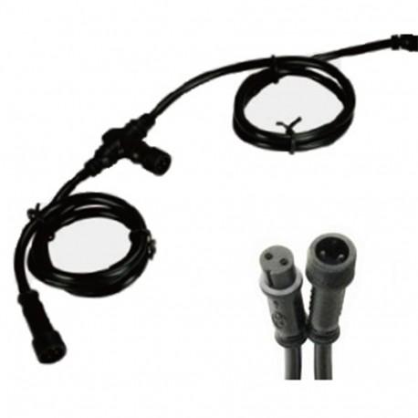 câble rallonge 5 raccords x 12m - Helia