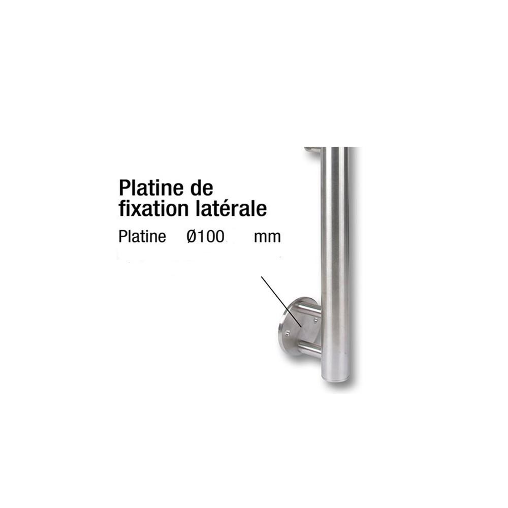 Poteau Fixation Laterale Poteaux Deck Linea