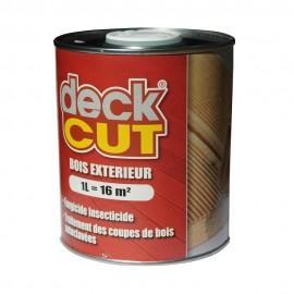 Traitement des coupes de lames de terrasse - DECK-CUT