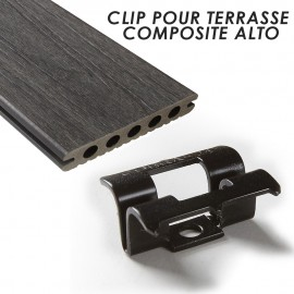 Clip pour terrasse composite ALTO