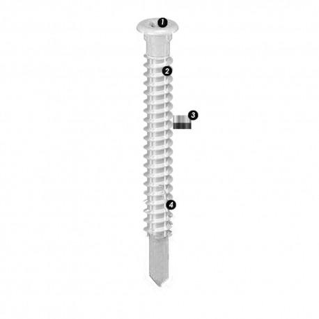 Vis Cobra Razorspin Lamb Alu A4 5.5x40mm (200pcs)