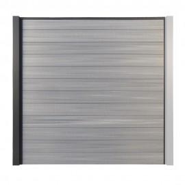 Clôture Composite Opal - Palissade Gris clair