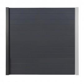 Palissade Aluminium OPAL Gris Anthracite 186 cm