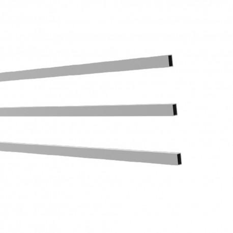 Renfort métallique 12x20mm pour lame clôture (3pcs) - BELEM
