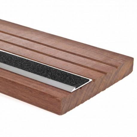 Antidérapant terrasse bois - Nez de marche escalier - 1,15m