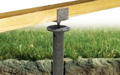 Découvrez la vis de fondation pour terrasse