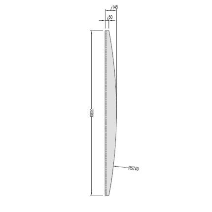Planche de finition bomb e pour palissade et cloture bois for Planche bois pour palissade