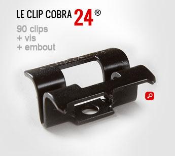 clip terrasse cobra 24