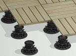 montage plot dalle de terrasse 3d