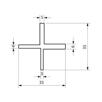 cobra deckspacer l 39 espaceur de lame de terrasse 8 pieces deck linea. Black Bedroom Furniture Sets. Home Design Ideas