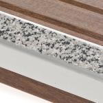 Antid rapant terrasse bois nez de marche escalier 29mm x for Antiderapant terrasse bois