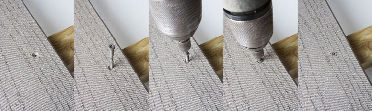 Plinthe fiberon professional 24x133mm x for Pose de lames de terrasse