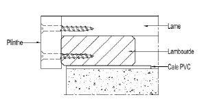La finition de votre terrasse sur lambourde