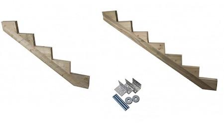 Accessoires pour escalier en bois