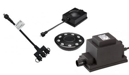Câbles et transformateurs spot