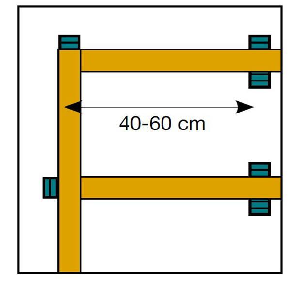 terrasse sur pilotis dimensions