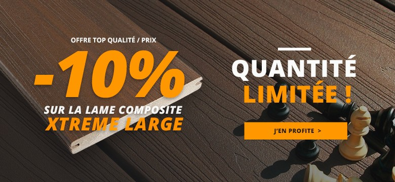 promo terrasse bois composite